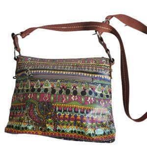 Sakroots Peace Collection Crossbody Bag